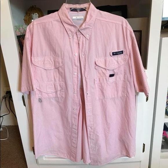 f4cc02a2f16 Columbia Shirts | Pink Shirt | Poshmark